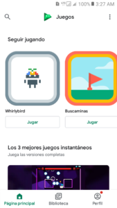 Google Play Juegos 1