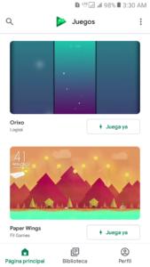 Google Play Juegos 6